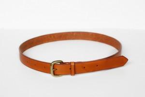 ceinture brun clair